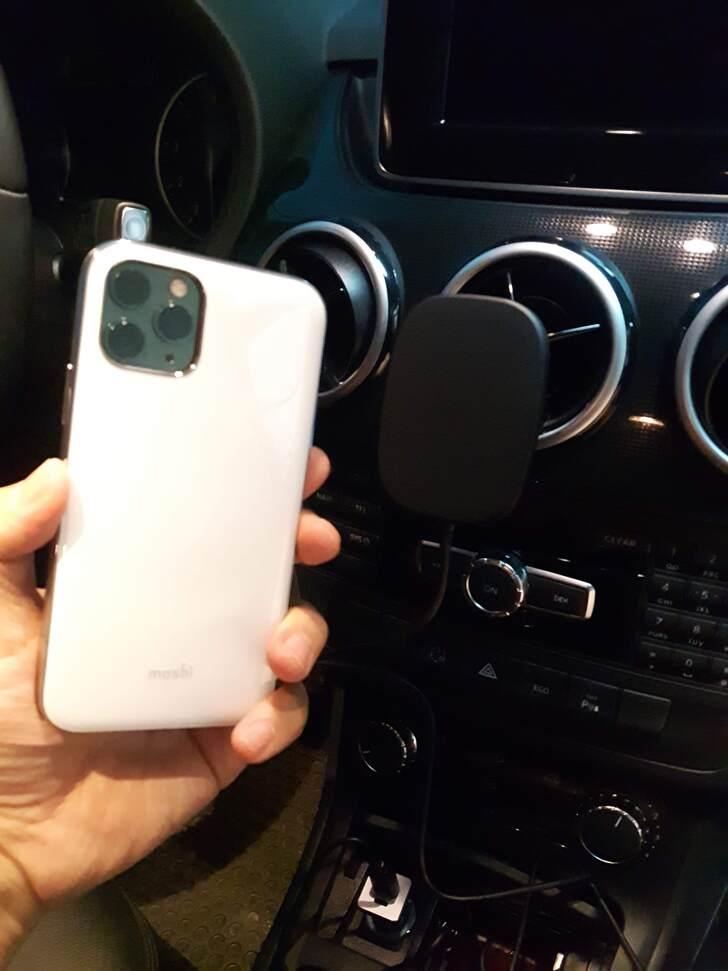 SnapTo™ 磁吸無線充電手機車用支架實測試用心得 - 15