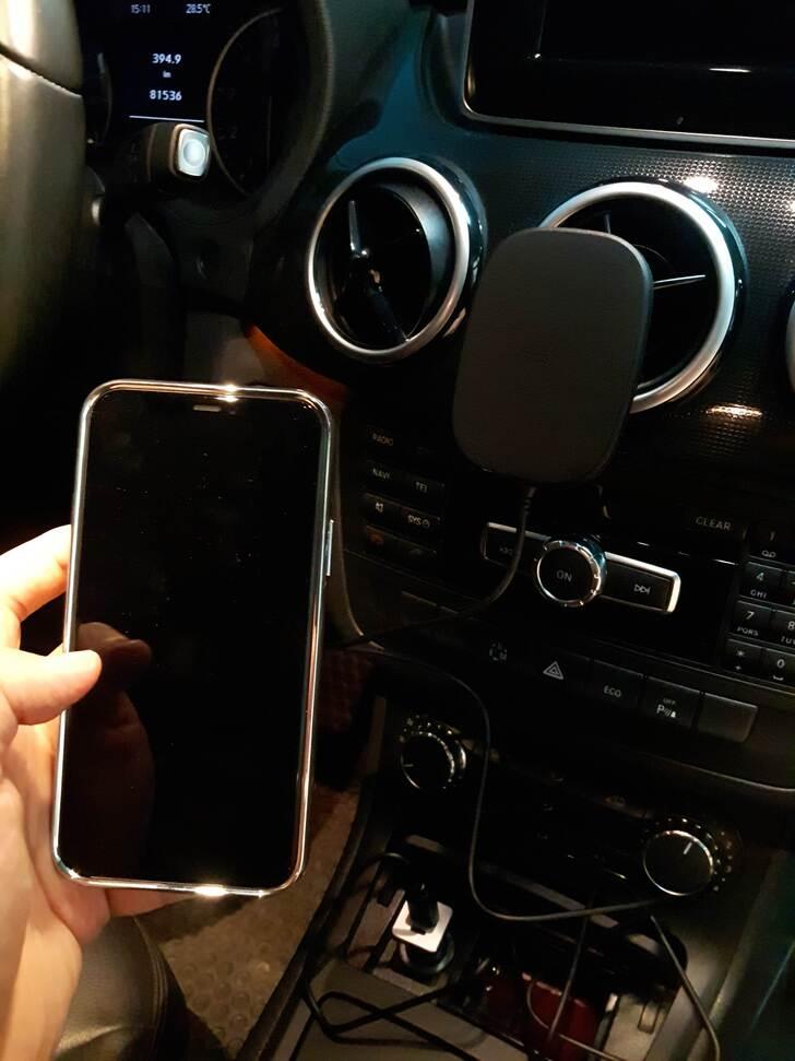 SnapTo™ 磁吸無線充電手機車用支架實測試用心得 - 18